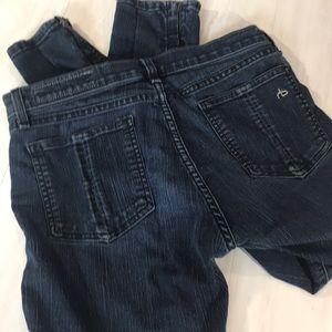 rag & bone zipper leggings, Dark indigo, 29